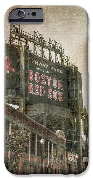 Fenway Park Billboard - Boston Red Sox IPhone Case by Joann Vitali