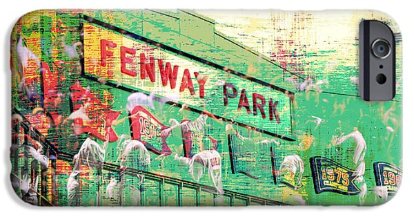 Fenway Park V3 IPhone Case by Brandi Fitzgerald
