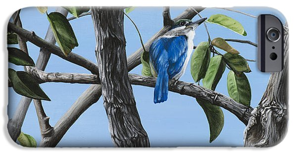 Filipino Kingfisher IPhone Case by Wendy Ballentyne