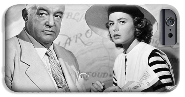 Film: Casablanca, 1942 IPhone Case by Granger