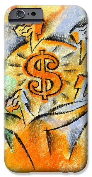 Financial Success IPhone Case by Leon Zernitsky