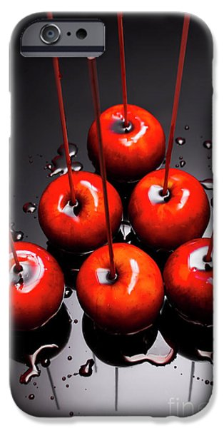 Fine Art Toffee Apple Dessert IPhone Case by Jorgo Photography - Wall Art Gallery