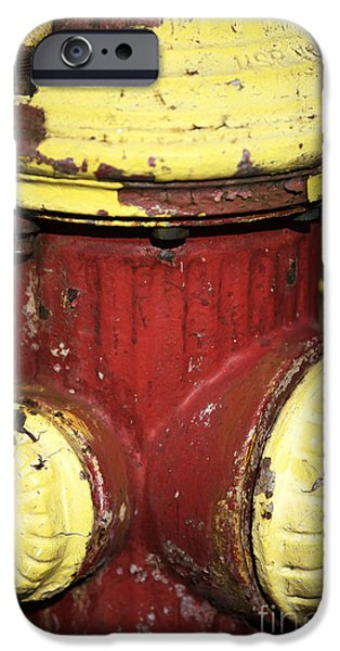 Fire Hydrant Colors IPhone 6s Case by John Rizzuto
