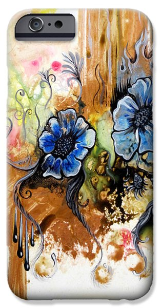 First Light In The Garden Of Eden II IPhone Case by Shadia Zayed