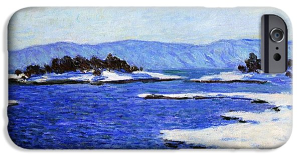 Fjord At Christiania IPhone Case by Claude Monet
