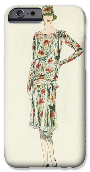 Flapper In An Afternoon Dress IPhone 6s Case by American School