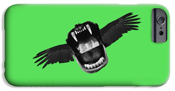 Flappy Mouth IPhone Case by Nicholas Ely