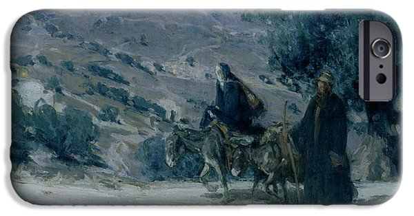 Flight Into Egypt IPhone Case by Henry Ossawa Tanner