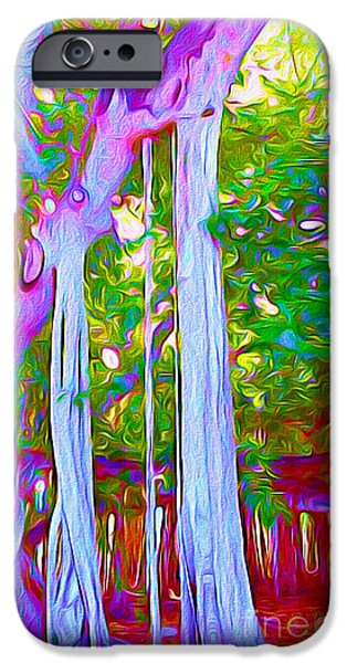 Florida Banyan Tree I IPhone Case by Chris Andruskiewicz