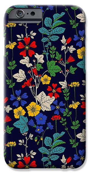 Flower Bed IPhone Case by Sholto Drumlanrig