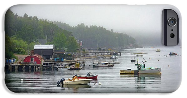 Foggy Afternoon In Mackerel Cove  IPhone Case by Rick Berk