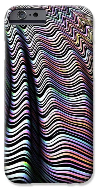 Folded Candy IPhone Case by John Edwards