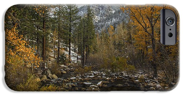 Following The River IPhone Case by Mitch Shindelbower