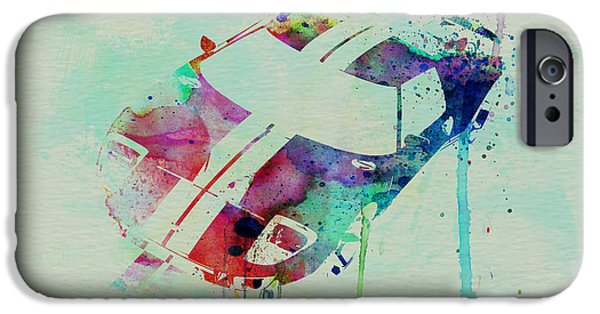 Ford Gt Top Watercolor  IPhone 6s Case by Naxart Studio
