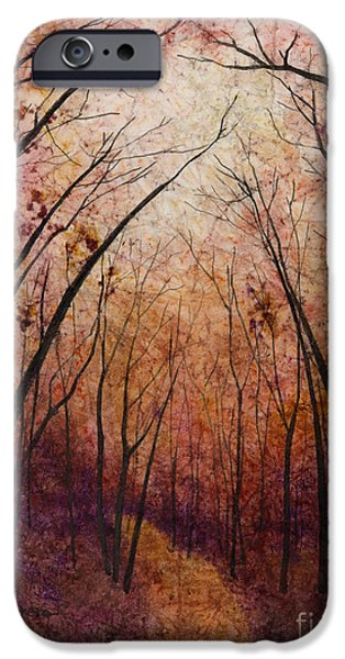 Forest Path IPhone Case by Hailey E Herrera