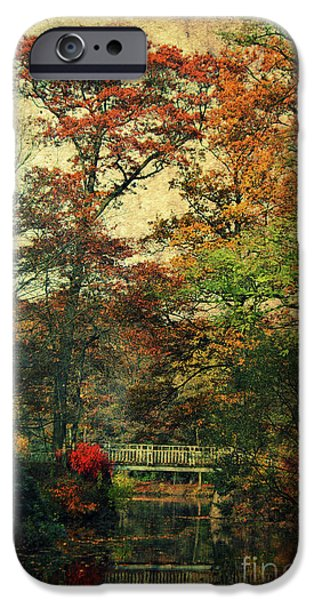 Forest Vintage IPhone Case by Angela Doelling AD DESIGN Photo and PhotoArt