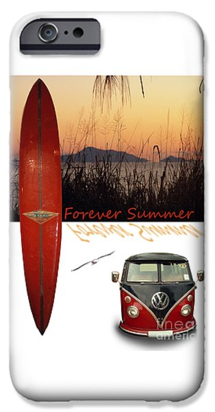 Forever Summer 1 IPhone Case by Linda Lees