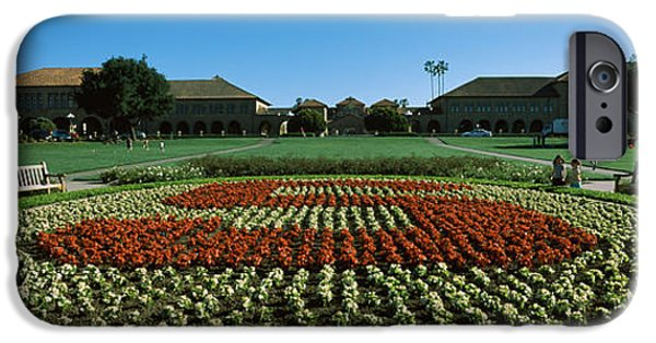 Formal Garden At The University Campus IPhone 6s Case by Panoramic Images