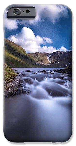 Fossvatnet IPhone Case by Tor-Ivar Naess