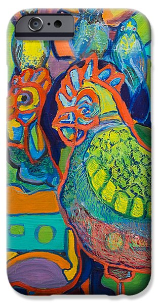 Fowl Party IPhone Case by Stephanie Berry