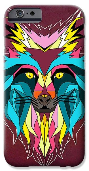 fox IPhone Case by Mark Ashkenazi