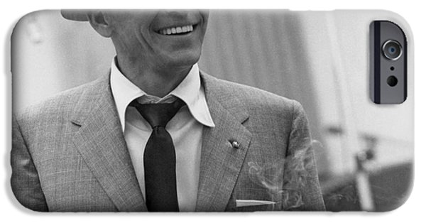 Frank Sinatra - Capitol Records Recording Studio #3 IPhone 6s Case by The Titanic Project