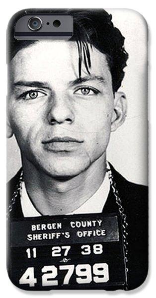 Frank Sinatra Mug Shot Vertical IPhone 6s Case by Tony Rubino