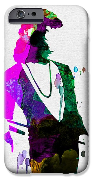 Freddie Watercolor IPhone Case by Naxart Studio