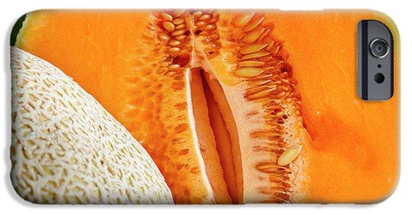 Fresh Cantaloupe Melon IPhone Case by Teri Virbickis