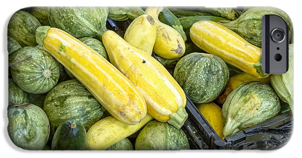 Fresh Squash At The Market IPhone Case by Teri Virbickis