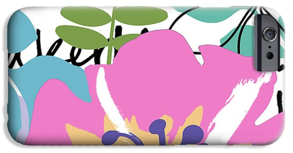 Frou Frou IPhone Case by Mindy Sommers