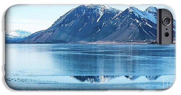 Frozen Lake IPhone Case by Svetlana Sewell