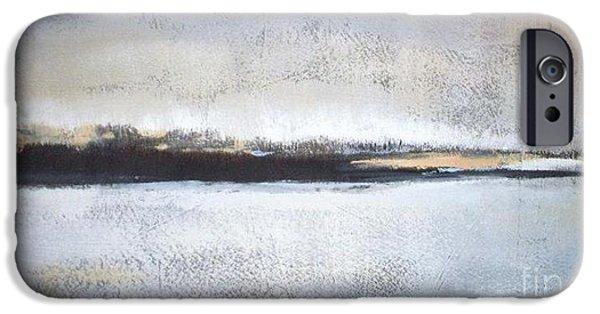 Frozen Winter Lake IPhone Case by Vesna Antic