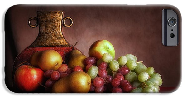 Fruit With Vase IPhone Case by Tom Mc Nemar