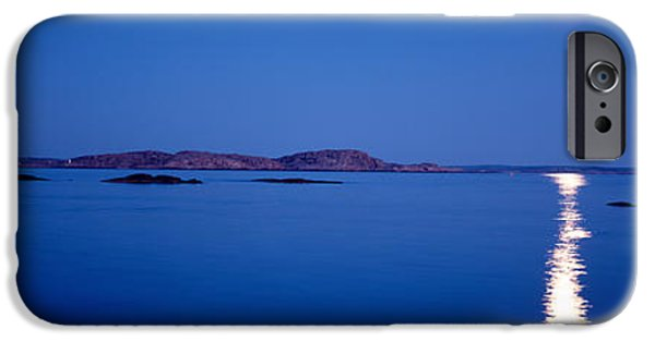 Full Moon, Night, Bohuslan, Sweden IPhone Case by Panoramic Images