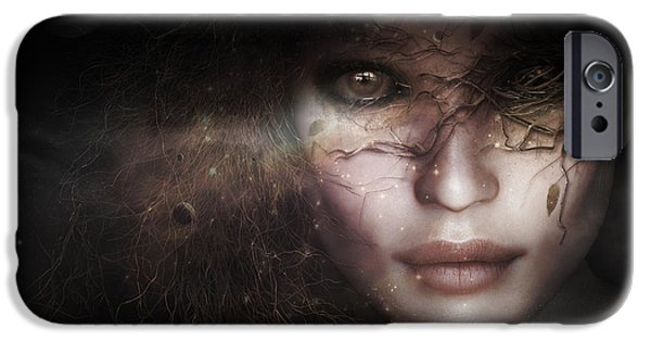 Gaia Goddess IPhone Case by Shanina Conway