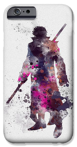 Gambit IPhone Case by Rebecca Jenkins
