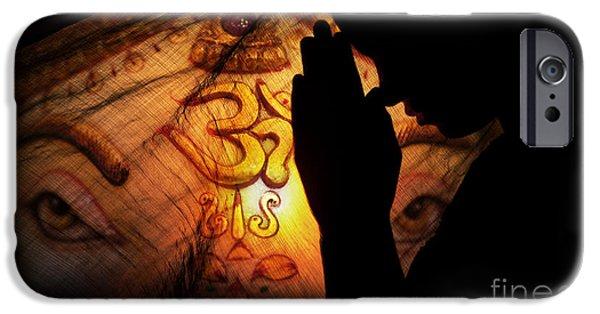 Ganesha Dreams IPhone Case by Tim Gainey