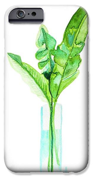 Garden Indoors IPhone 6s Case by Roleen Senic