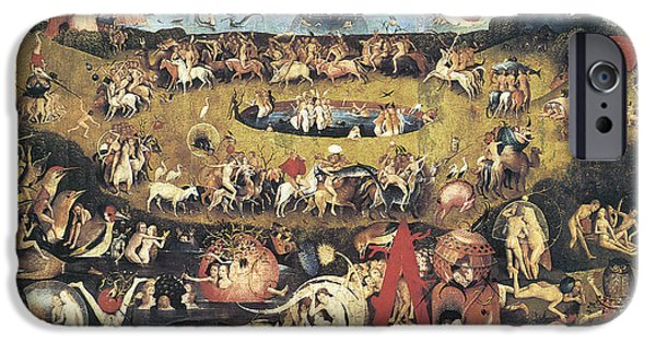 Garden Of Earthly Delights IPhone Case by Hieronymous Bosch