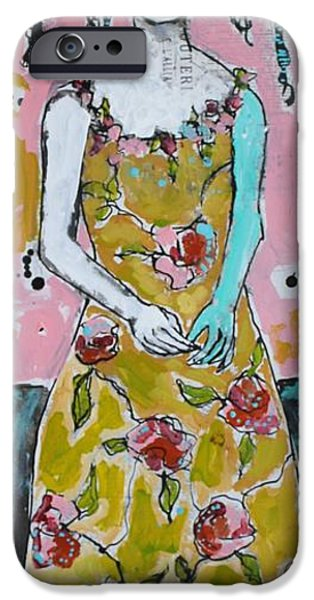 Garden Party IPhone Case by Jane Spakowsky