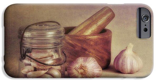 Garlic In A Jar IPhone Case by Tom Mc Nemar