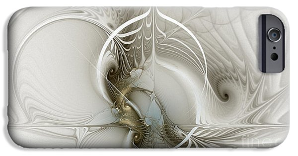Gateway To Heaven-fractal Art IPhone Case by Karin Kuhlmann