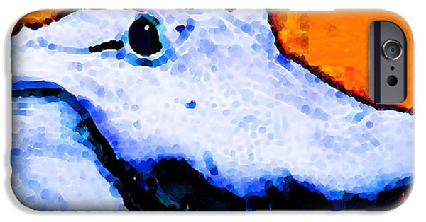 Gator Art - Swampy IPhone 6s Case by Sharon Cummings