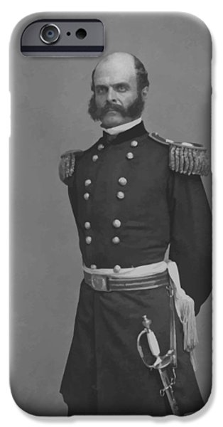 General Ambrose Everett Burnside IPhone 6s Case by War Is Hell Store