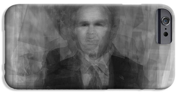George W. Bush IPhone 6s Case by Steve Socha