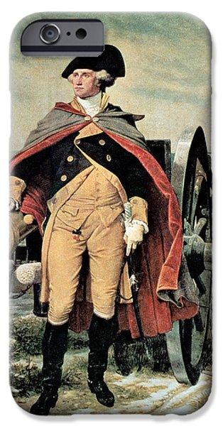 George Washington At Dorchester Heights IPhone 6s Case by Emanuel Gottlieb Leutze