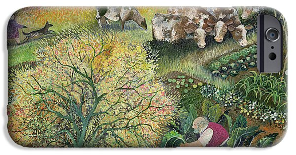 George's Allotment IPhone Case by Lisa Graa Jensen