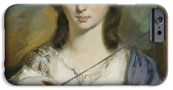 Georgiana Spencer Duchess Of Devonshire IPhone Case by Celestial Images