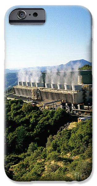 Geothermal Power Plant IPhone 6s Case by Inga Spence